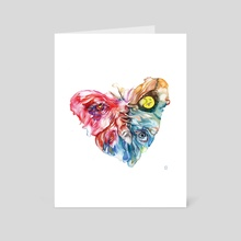 All you need is love. - Art Card by Eugenia Shchukina