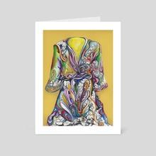 Garment of Praise - Art Card by terrance mcdow