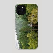 Pinewood in summer - Phone Case by Geraldas Galinauskas