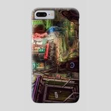 Cyberpunk Desert - Phone Case by Jerico Cinco