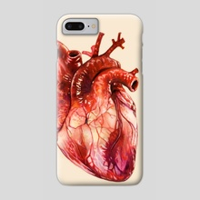 Heart Study - Phone Case by Morgan Davidson