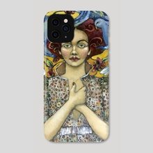 Holding Down The Fort - Phone Case by Jane Spakowsky