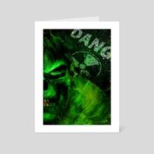 Hulk X Skull Project - Art Card by Anirudh Mahansaria
