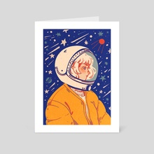 Cosmos - Art Card by pineberrry