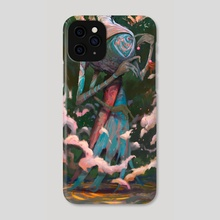Three Armed Raven  - Phone Case by Murdok X