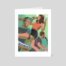 Chvrches - Art Card by Jai Kamat