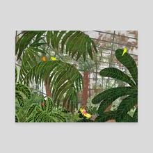 greenhouse - Canvas by Lara Paulussen