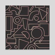 Tny Mly - Canvas by Mina Wright