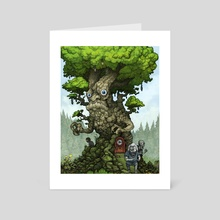 Gate of Bewilderment - Art Card by Tom Kilian