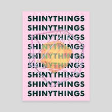 Shiny Things - Canvas by Samuel Stroud