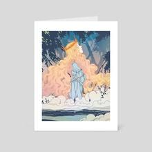 prayer - Art Card by Katharina Ortner
