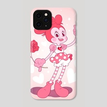 Best Friend Spinel - Phone Case by Samantha Whitten