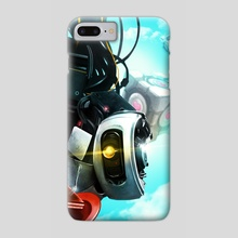 GLaDOS - Phone Case by Ridd Li