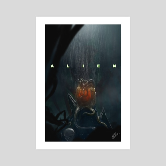 Alien  by Brett Marchant
