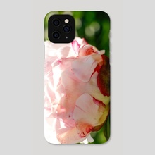 Peony 3 - Phone Case by Michelle Coffeen