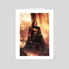 The Way Into Chaos - Art Card by chris mcgrath