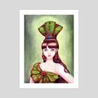 Lady Green - Art Print by Rita Lai
