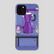 Moka - Phone Case by Rodrigo Fortes
