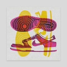 Dunk Low 2 - Canvas by Spenceless Designz
