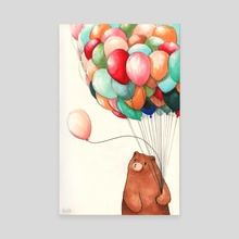 Deflating - Canvas by Felicia Chiao