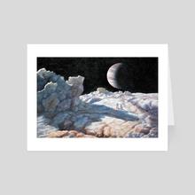 Exploring - Art Card by Armand Cabrera