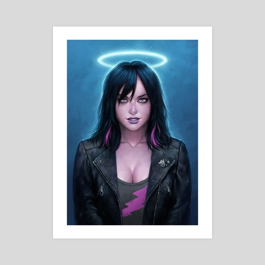 Electric Angel by Matt Dixon