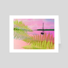 The Sound Beyond - Art Card by Jahla Brown