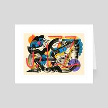 JAZZ! - Art Card by David Habben