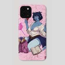 Critical Role Jester Pin Up - Phone Case by Joma Cueto