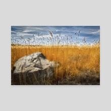 Big Rock - Canvas by Stefan Demervall