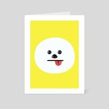 Chimmy - Art Card by fatima MK