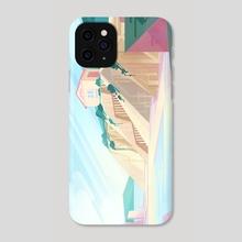 Spring Cliffs - Phone Case by Devon Decker