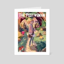 The postwoman - Art Card by Daphnée PIRKER