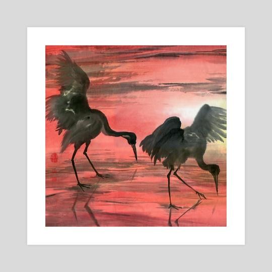 Cranes - 17 by River Han