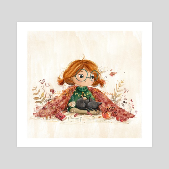 Autumn Blanket by Lucy Fleming
