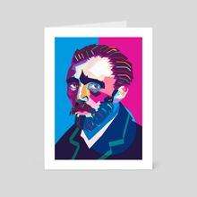 Wpap Van Gogh - Art Card by LemoBoy