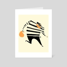 Robber! - Art Card by Marlowe Dobbe
