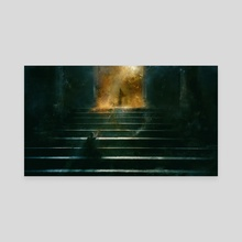 Yearning - Canvas by Leoncio Harmr