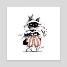 Black Mage  - Canvas by Ayami Garcia