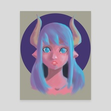 Taurus Candy Color (Sketch Style) - Canvas by Toon Rod
