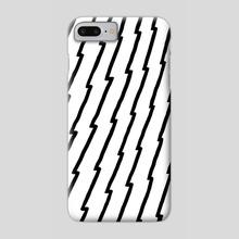 Raw Pattern 2 - Phone Case by Michele Ficeli