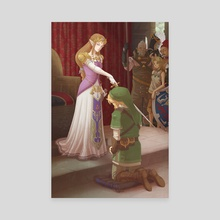 The Accolade - Canvas by Missy Pena