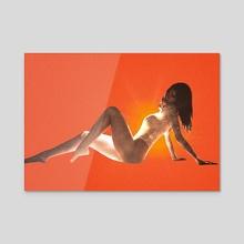 Ojai bliss - Acrylic by Ella Weisskamp