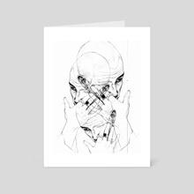 Untitled - Art Card by hueniverse