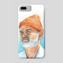 Bill Murray as Steve Zissou from The Life Aquatica - Phone Case by Olga Shvartsur