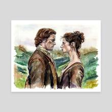 Outlander - Canvas by Alina Mozzherina