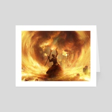 Fated Conflagration - Art Card by Adam Paquette