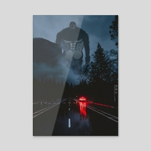 Beast Titan - Acrylic by Obnubilant  ラヤン
