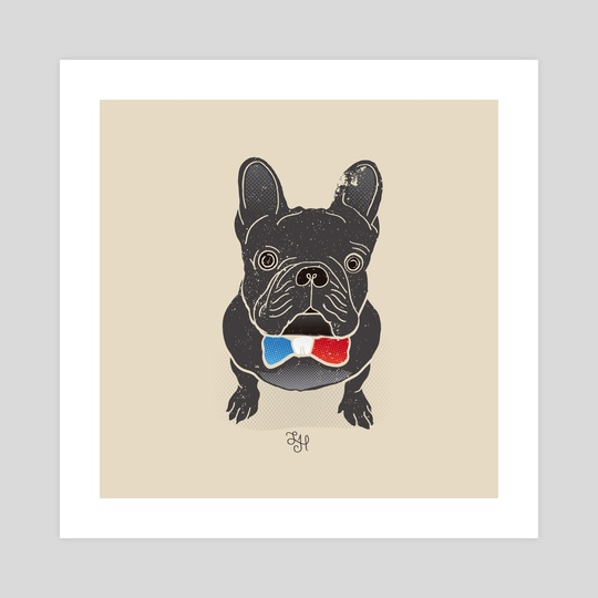French BullDog by LeftHandedGraphic