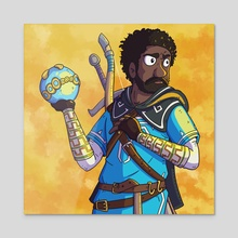 Childish Gambino x The Legend of Zelda - Acrylic by Matt Girouard